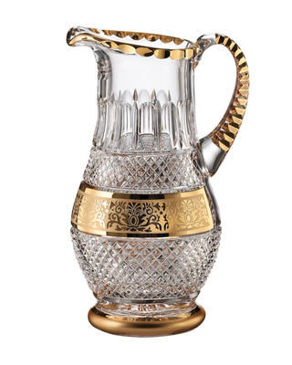 Bohemia Crystal hand cut jug Felicie Romantic 1.3l
