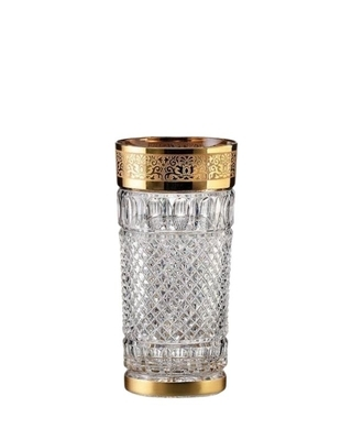 Bohemia Crystal Ručně broušené sklenice na vodu a nealko Felicie Romantic 350ml (set 2ks)