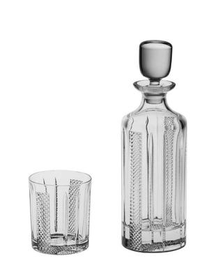 Bohemia Crystal Whisky set Choker 6+1