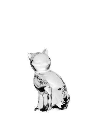 Bohemia Crystal Figurka Kočka 66mm