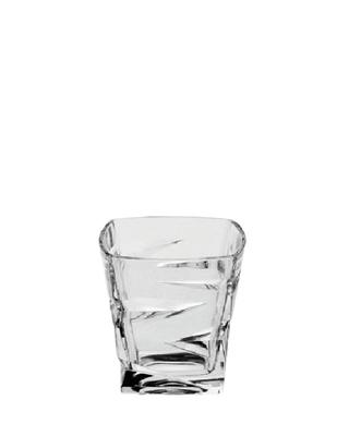 Bohemia Crystal Whiskygläser Zig Zag 21804/59418/300 ml (Set mit 6 Stück)