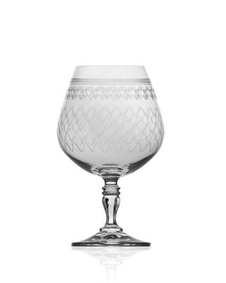 Bohemia Crystal Sklenice na brandy a koňak Victoria 380ml (set po 6ks) - 1