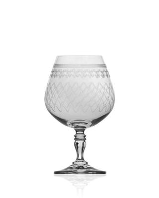 Bohemia Crystal Brandy- und Kognakgläser Victoria 380 ml (Set mit 6 Stück) - 1