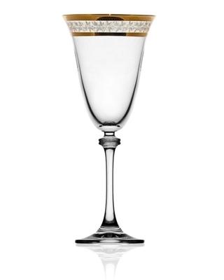 Bohemia Crystal Alexandra red wine glass 350ml (set of 6pcs) - 1
