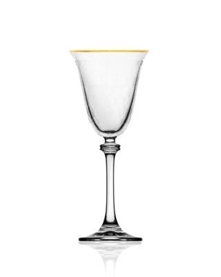 Bohemia Crystal Sklenice na bílé víno Alexandra 185ml (set po 6ks) - 1