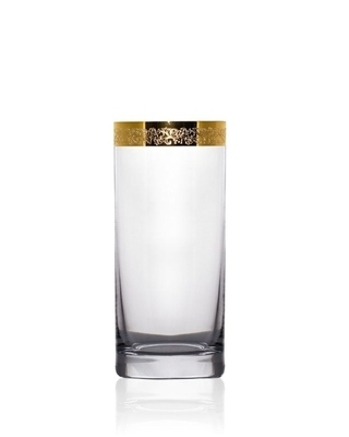 Bohemia Crystal glass for water and soft drinks Barline 300ml (set of 6pcs) - 1