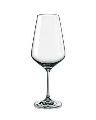 Bohemia Crystal Sklenice na červené víno Sandra 550ml (set po 6ks)