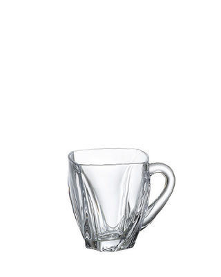 Bohemia Crystal Coffee and Tea Cups Neptune 150ml (set of 6 pcs)