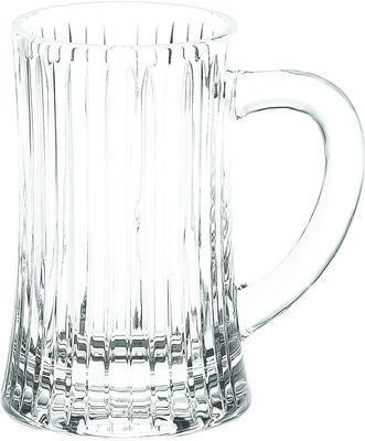 Bohemia Crystal Halbliterglas mit Henkel 34629/24340/500 ml