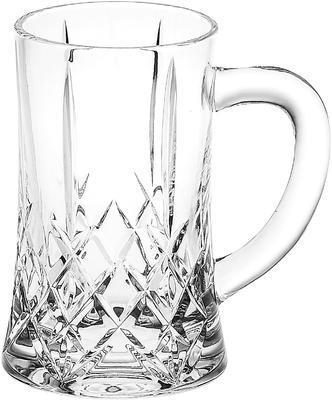 Bohemia Crystal Beer Mug with Handle 34629/11038 / 500ml.