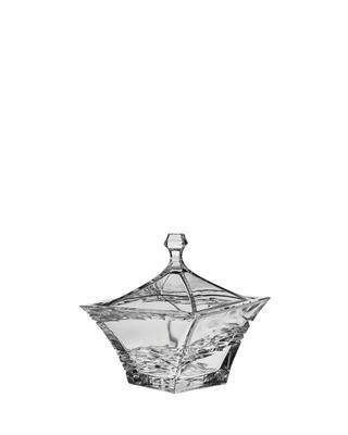 Bohemia Crystal Samurai box with lid 185mm