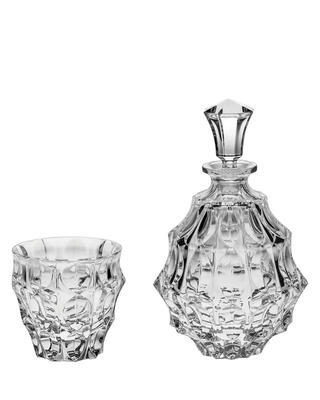 Bohemia Crystal Fortune whisky set (1 bottle + 6 tumblers)