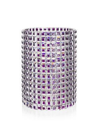 Bohemia Crystal handgeschliffene luxuriöse Vase Queen Arabela 33 cm