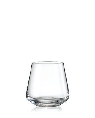 Bohemia Crystal Sandra Whiskey Tumblers 290ml (set of 6 pcs)
