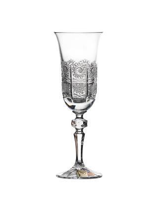 Bohemia Crystal Laura Hand Cut Champagne Glasses PK500/150ml (set of 6 pcs)