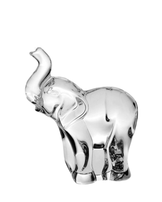Bohemia Crystal Glasfigur Elefant 74868/58900/090 mm
