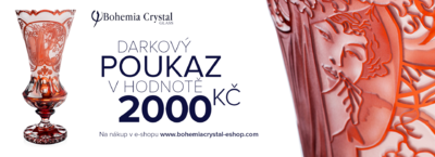 Gift voucher worth 2000 CZK