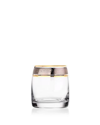 Bohemia Crystal Whiskygläser Ideal 25015/43249/290 ml (Set mit 6 Stück) - 1