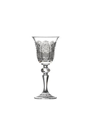 Bohemia Crystal Broušené sklenice na likér Laura 12116/57001/060ml (set po 6ks)