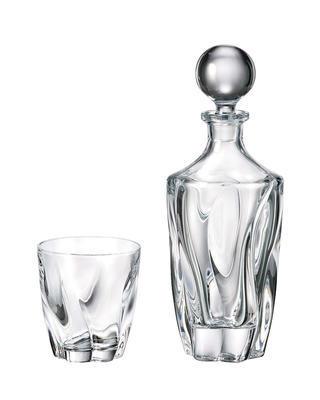 Bohemia Crystal Whiskyset Barley 99999/9/99V75/375 (1 Karaffe + 6 Gläser)