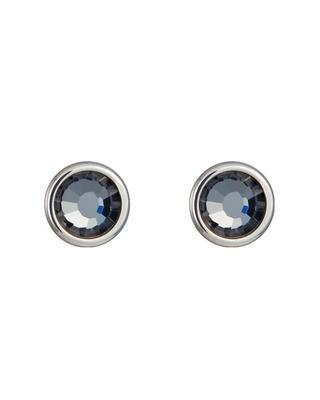 Bohemia Crystal Carlyn Surgical Steel Earrings with Preciosa Crystal - Chrome 7235 40 - 1