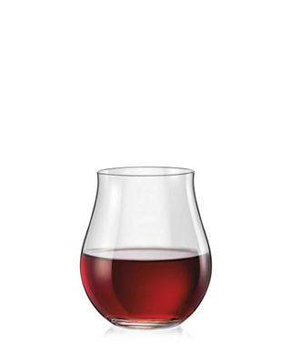 Bohemia Crystal Attimo Red Wine Glasses 320ml (set of 6 pcs)