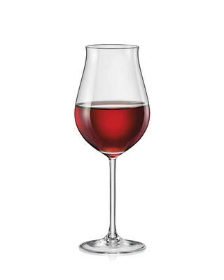 Bohemia Crystal Attimo Wine Glasses 340ml (set of 6 pcs)