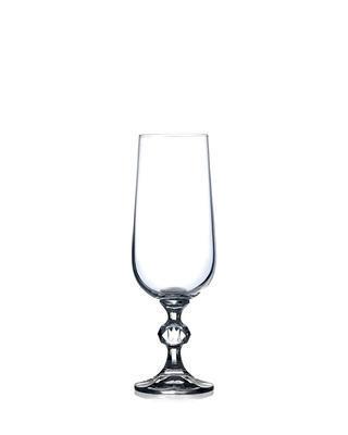 Bohemia Crystal sklenice na šampaňské Claudia 180ml (set po 6ks)