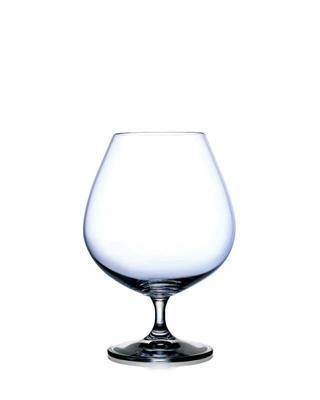 Bohemia Crystal Brandy- und Kognakgläser XXL Vintage 875 ml (Set mit 2 Stück)