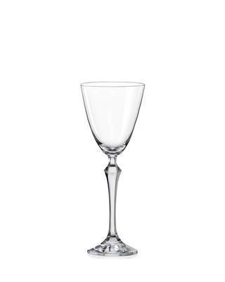 Bohemia Crystal Weißweingläser Elizabeth 190 ml (Set mit 6 Stück)
