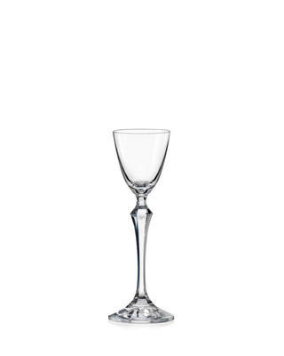 Bohemia Crystal Liqueur Glass Elisabeth 70ml (set of 6 pcs)
