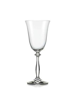Bohemia Crystal Weingläser Angela 250 ml (Set mit 6 Stück)