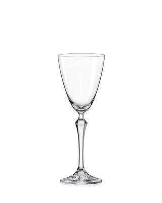 Bohemia Crystal sklenice na víno Elisabeth 250ml (set po 6ks)