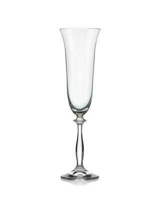 Bohemia Crystal Angela Champagne Glass 190ml (set of 6 pcs)