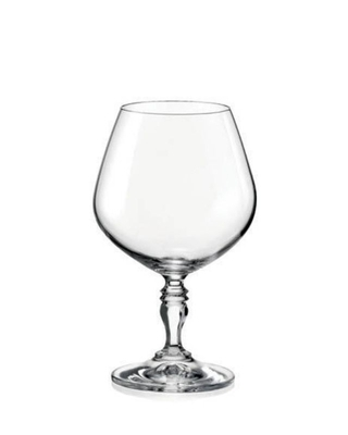 Bohemia Crystal sklenice na brandy a koňak Victoria 380ml (set po 6ks)