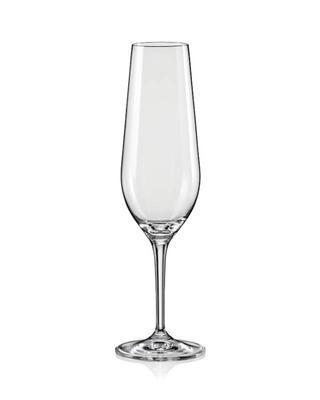 Bohemia Crystal Champagne Glass Amoroso 200ml (set of 2 pcs)