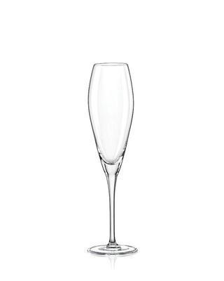 Bohemia Crystal Champagnergläser Bravo 220 ml (Set mit 6 Stück)
