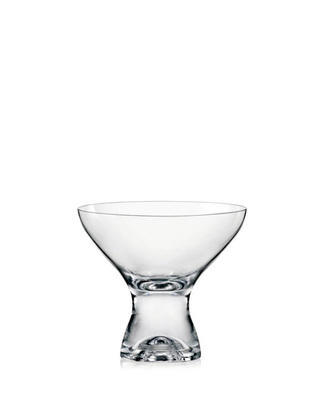 Bohemia Crystal Duka Champagne and Dessert Glasses 330ml (set of 6 pcs)