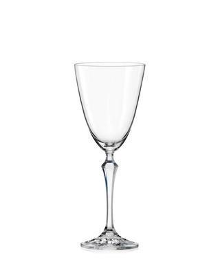 Bohemia Crystal Rotweingläser Elizabeth 350 ml (Set mit 6 Stück)