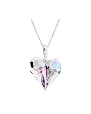 Bohemia Crystal Amour Pendant Made of Czech Crystal 6422 42L.