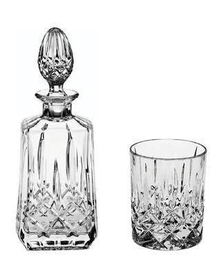 Bohemia Crystal Whiskyset Sheffield 99999/52820/598 (1 Karaffe + 6 Gläser)