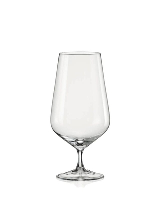 Bohemia Crystal Sandra Beer Glass 540ml (set of 6 pcs)