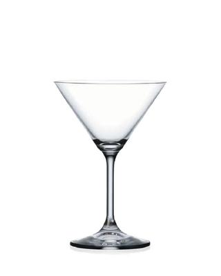 Bohemia Crystal Martinigläser Lara 40415/210 ml (Set mit 6 Stück)