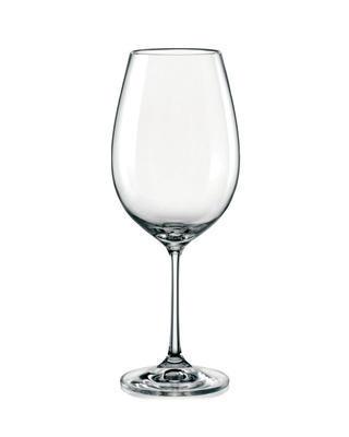 Bohemia Crystal Sklenice na červené víno Viola 550ml (set po 6ks)
