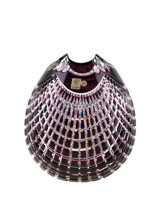 Bohemia Crystal Geschliffene Schüssel Quadrus 80C57/0/78C85/210 mm – violett