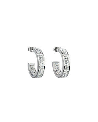Bohemia Crystal Fantastique Earrings Made of Surgical Steel with Preciosa Crystal 7106 00