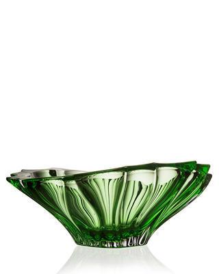 Bohemia Crystal Plantica bowl 330 mm - green