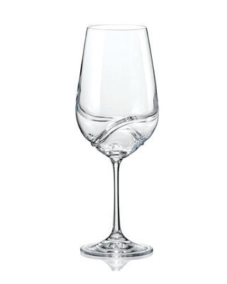 Bohemia Crystal Sklenice na červené víno Turbulence 40774/550ml (set po 2ks)