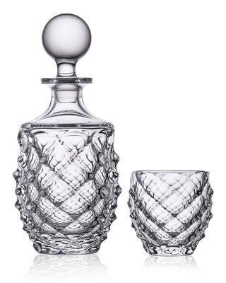Bohemia Crystal Whiskyset Morris 99999/9/37318/960 (1 Karaffe + 6 Gläser)
