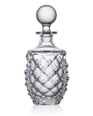 Bohemia Crystal Morris Whiskey Decanter 49120/1/37318 / 075l